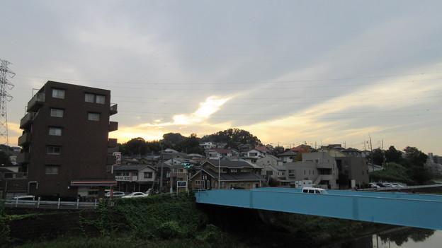 関戸城(多摩市)北東、新大栗橋より