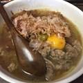 牛骨スープの「牛そば屋」って名前のラーメン店(越谷市)
