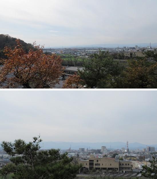 吉見百穴(埼玉県比企郡吉見町)南西~西