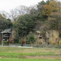 写真: 松山城(埼玉県比企郡吉見町)岩室観音堂