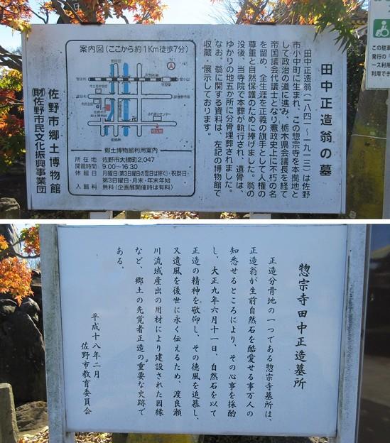 Photos: 佐野厄除け大師(栃木県佐野市)田中正造墓
