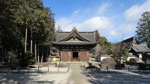 恵林寺(甲州市小屋敷)開山堂