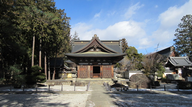 Photos: 恵林寺(甲州市小屋敷)開山堂