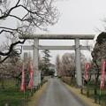 弘道館(旧弘道館。水戸市)鹿島神社鳥居