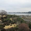 偕楽園好文亭(水戸市)千波湖