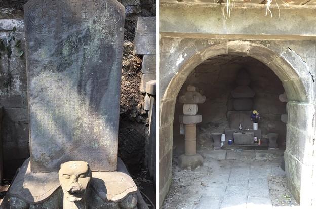 大江寛元墓(鎌倉市)