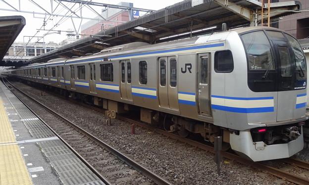 JR東日本横浜支社E217系(津田沼駅にて/日本ダービー前日)