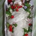 Photos: ウェディングドレス(ローズリエール)を着たジェニー(J1)(棺桶型ケース)