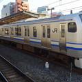 写真: JR東日本横浜支社E217系(津田沼駅にて)