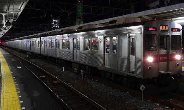 東急電鉄8500系による東武スカイツリーライン急行