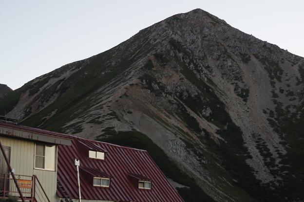 三俣山荘と鷲羽