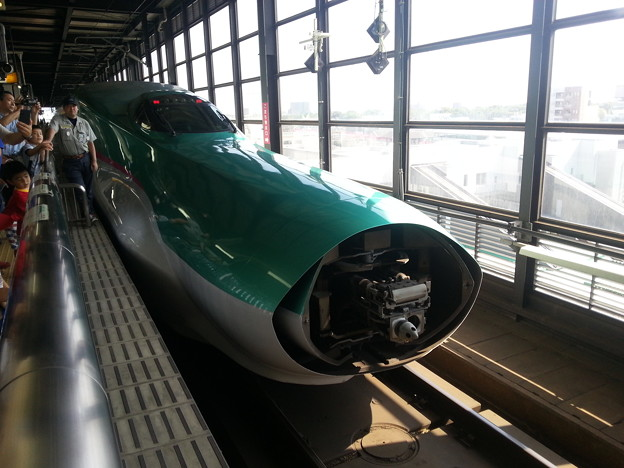 新幹線 はやぶさ 切り離し完了(^-^ゞ