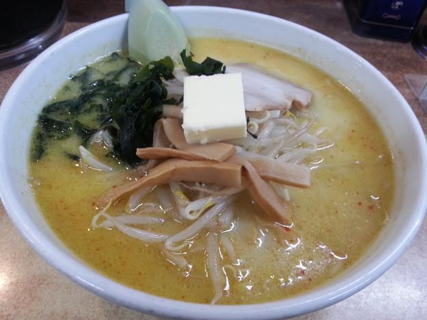 青森 B級グルメ 味噌カレー牛乳ラーメン  いただきますワン(^-^)