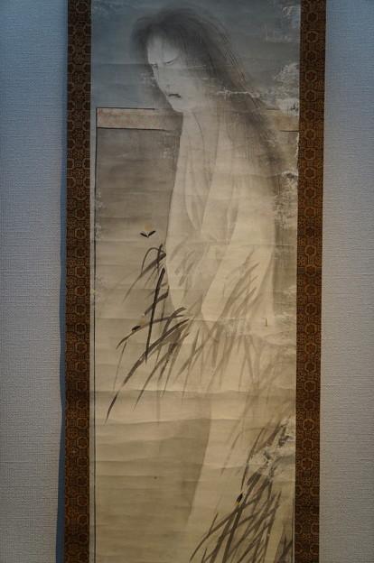 弘前 幽霊展 女幽霊の掛け軸