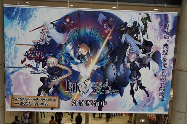 Photos: アニメジャパン2017 フェイトグランドオーダー 広告フラッグ