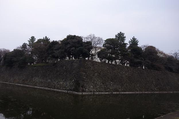 皇居外苑 石垣
