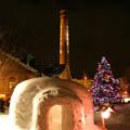 写真: 冬のサッポロビール園