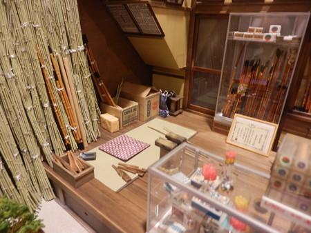 ミニチュアハウス 釣竿職人の部屋