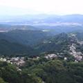 写真: 吉野山の風景(2016年6月)