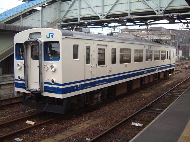 宇部線・小野田線クモハ123-2 2003-01-11/3