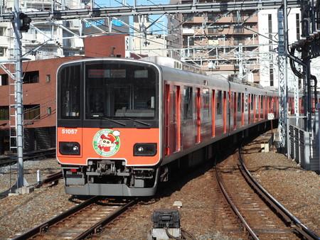 東武鉄道クハ51057 2016-12-24