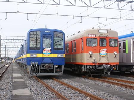 東武鉄道8198F・8111F 2015-12-6