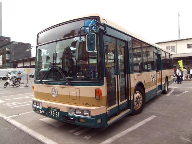 Photos: JRバス関東 L538-02503 2015-1-1