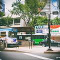 写真: 10年と2日前の熊本市の繁華街通町筋電停。