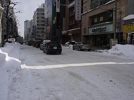 札幌の街を散歩