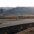 Photos: 臼杵石仏 参道入口から見た景色