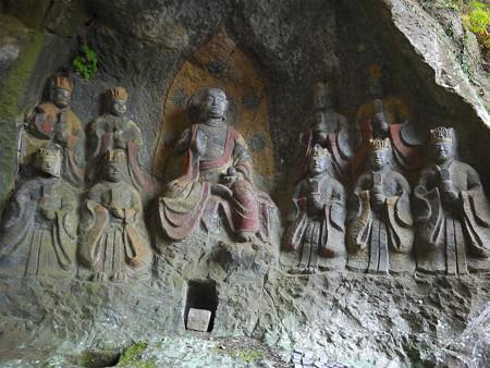 臼杵石仏 ホキ石仏第一群(5)第四龕