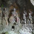 写真: 臼杵石仏 ホキ石仏第一群(5)第四龕