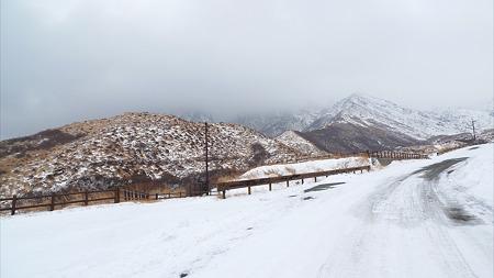 冬の仙酔峡(4)
