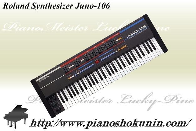 Roland Synthesizer Juno-106