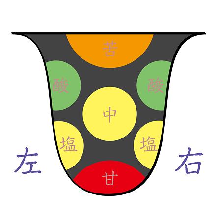 舌その3(甘味)