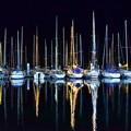 Photos: 夜のヨットハーバー