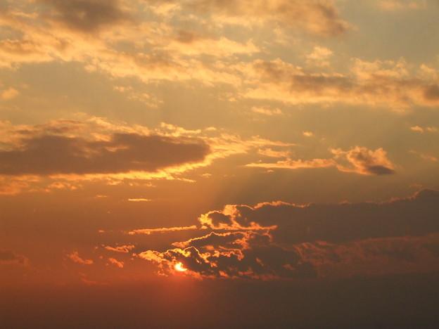 六本木ヒルズ屋上からの夕空