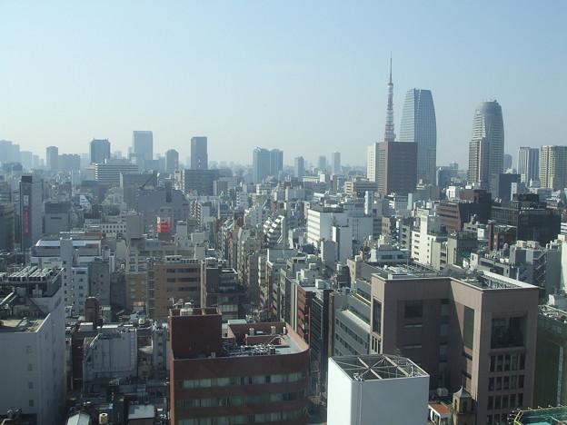 第一ホテル東京から 東京タワー