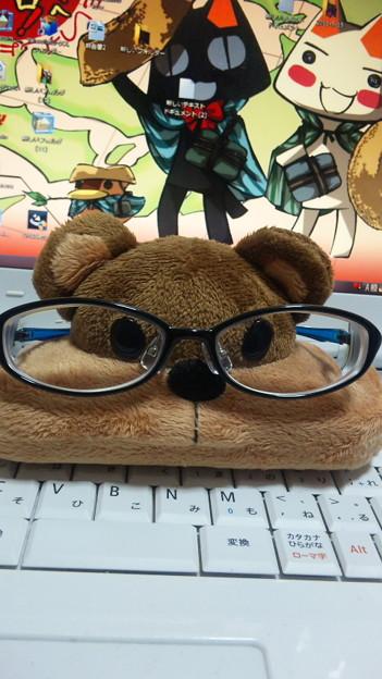 今日はメガネの日らしいので、私が普段掛けているメガネでも。 #メガ...