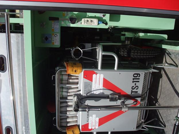 消防車 装備品