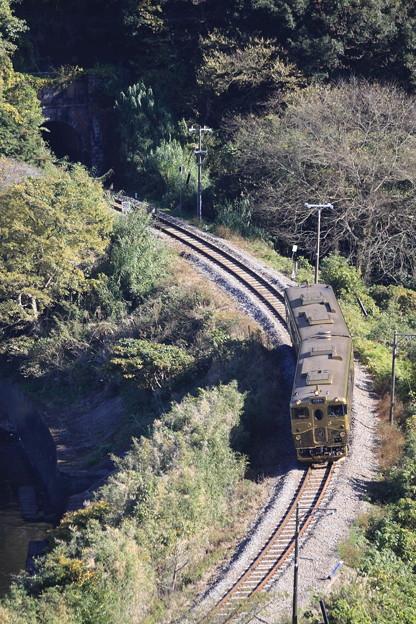 スイーツ列車「或る列車」長崎本線(旧線)