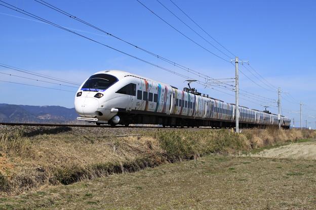 885系電車ラッピング