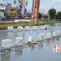 Photos: 大型灯籠の撤収03
