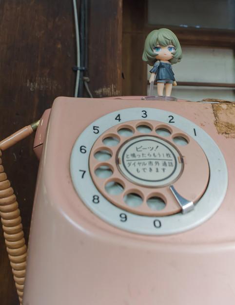 楓さんと電話
