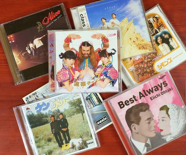 お気に入りの音楽CD