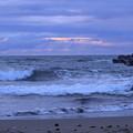 夏の日本海と荒波(2)