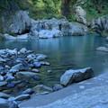 夏の手取峡谷(1)