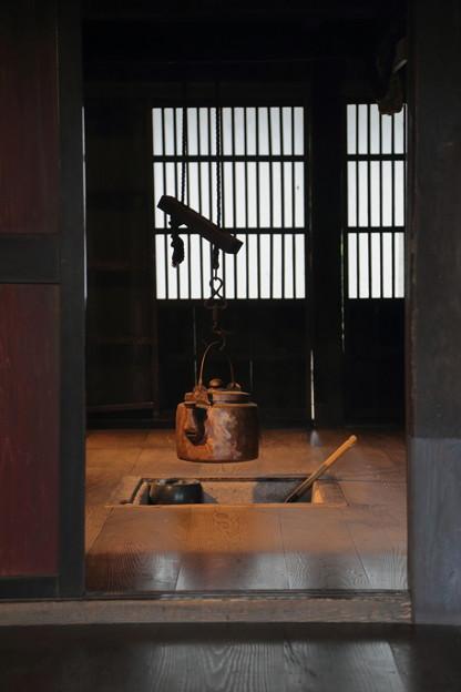Photos: 旧平家 囲炉裏
