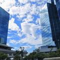Photos: 青空と映り込み