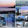 Photos: 江ノ電と由比ヶ浜